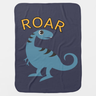 Baby Dinosaur - Baby Blanket Swaddle Blankets