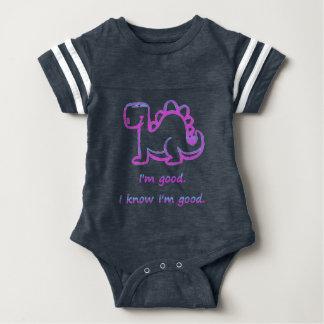 Baby dinosaur baby bodysuit