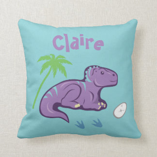 Baby Dinosaur Iguanodon Cushion