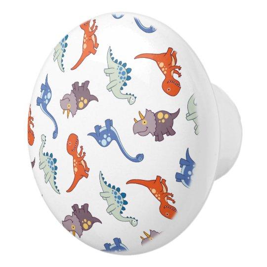 Baby Dinosaur Knob/Pull Ceramic Knob