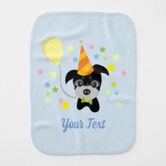 baby dog Burp Cloth