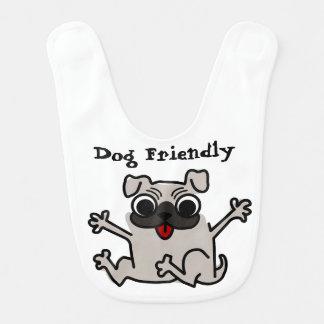 Baby dog Friendly Bib