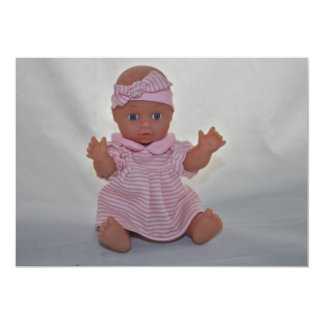 Baby Doll Invitation
