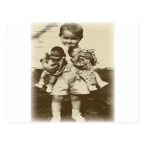 Baby Dolls Post Card