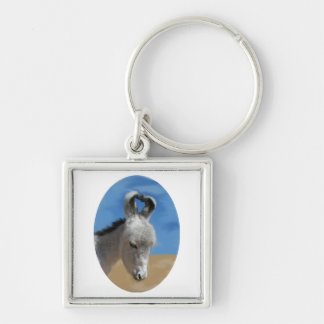 Baby Donkey Key Ring