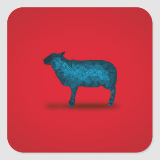 Baby don't HERD me!... Square Sticker