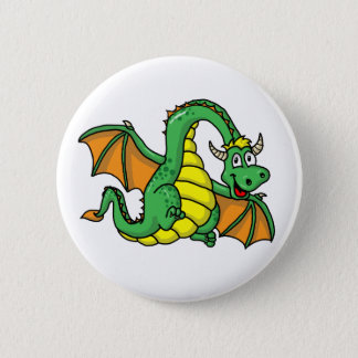 Baby Dragon 6 Cm Round Badge