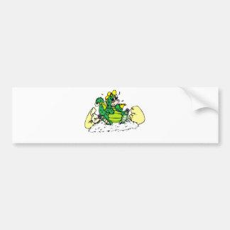 baby dragon bumper sticker