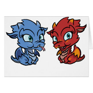 Baby Dragon Greeting Card