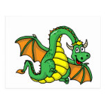 Baby Dragon Post Cards