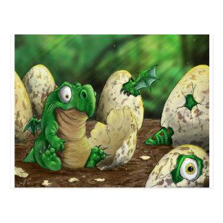 Baby Dragon Postcard