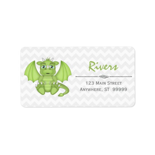 Baby Dragon Return Address Labels