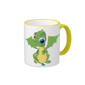 Baby Dragon Ringer Mug