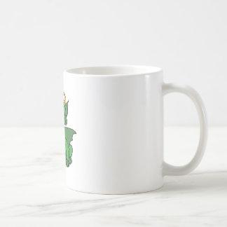 Baby Dragon With Horns Coffee Mugs