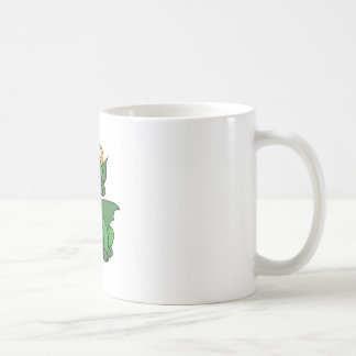 Baby Dragon With Horns Coffee Mugs