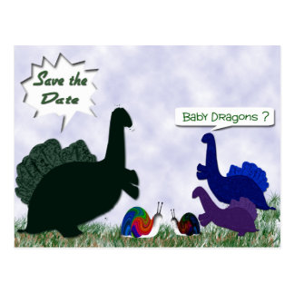 Baby Dragons ? Postcard