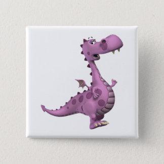 Baby Dragons: Smoky, Vl. 2 15 Cm Square Badge