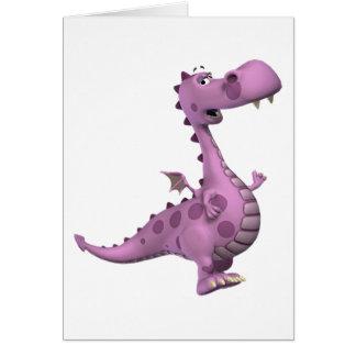 Baby Dragons: Smoky, Vl. 2 Greeting Card