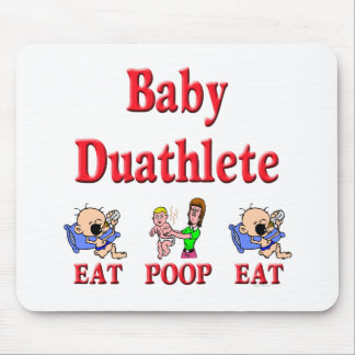 Baby Duathlete 2 Mouse Pad