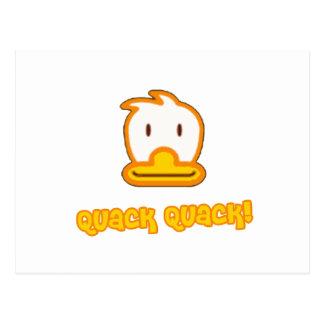 Baby Duck Cartoon Postcard
