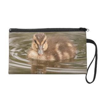 Baby Duckling Duck Bird Wildlife Animal Bag Wristlet Clutches