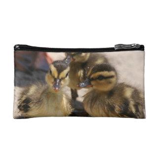 Baby Duckling Ducks Birds Wildlife Animals Bag Makeup Bag