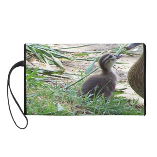 Baby Duckling Ducks Birds Wildlife Animals Bag Wristlet Purses