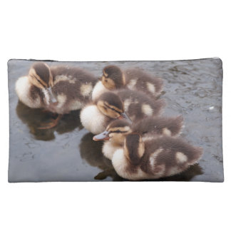 Baby Ducklings Ducks Birds Wildlife Animals Bag Cosmetic Bag