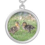 Baby Ducks Photo Necklaces