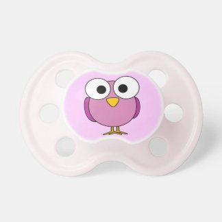 Baby dummy cute bird Pink Baby Pacifier