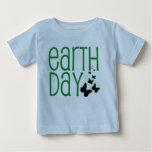 baby earth day shirt. shirt