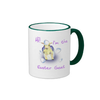 Baby Easter Goat Coffee Mugs