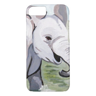 Baby Elephant 2 (Kimberly Turnbull Art) iPhone 8/7 Case