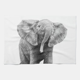 Baby Elephant American MoJo Kitchen Towels