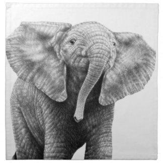 Baby Elephant American MoJo Napkins