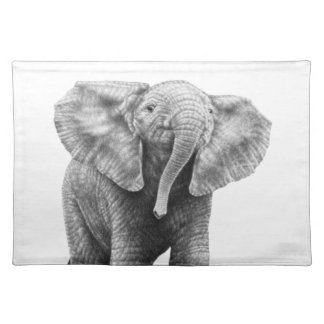 Baby Elephant American MoJo Placemats