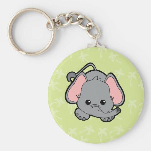 Baby Elephant Cutie Keychain