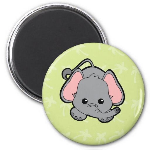 Baby Elephant Cutie Refrigerator Magnet