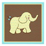 Baby Elephant Invitations
