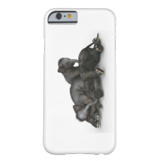 Baby Elephant iPhone 6/6s, Barely There Case Grey