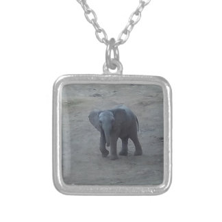 Baby Elephant Necklace - by Fern Savannah