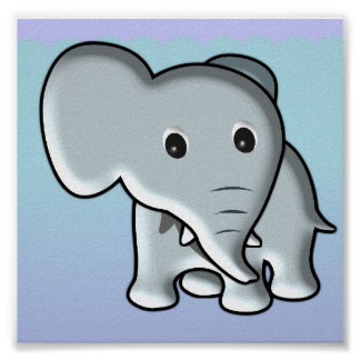 Baby Elephant/ Nursery Decor
