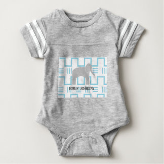 Baby Elephant One Piece Baby T-Shirt