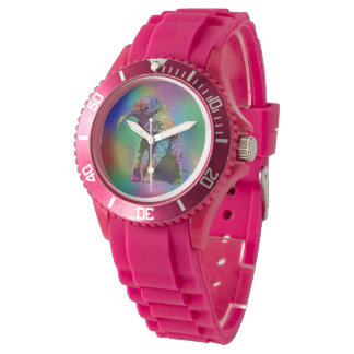 Baby Elephant Pop Art, Ladies Sports Watch