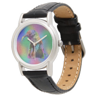 Baby Elephant Pop Art, Ladies Watch