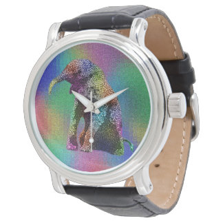 Baby Elephant Pop Art, Watch