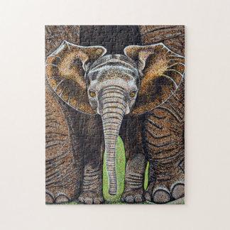 Baby Elephant Puzzle