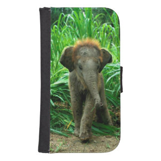 Baby Elephant Samsung S4 Wallet Case