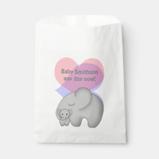 Baby Elephant Shower Favour Bags