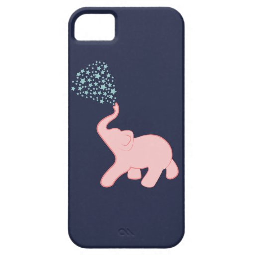 Baby Elephant Star Shower iPhone 5/5S Cases